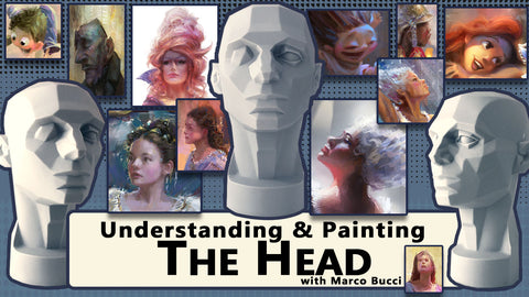 Understanding and Painting the Head Workshop - Marco Bucci Art Store