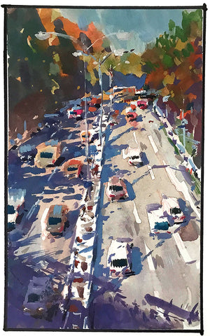 Sketchbook - 'Traffic' Print - Marco Bucci Art Store