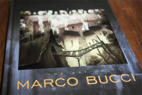 Imaginary Places: The Art of Marco Bucci Book - Marco Bucci Art Store