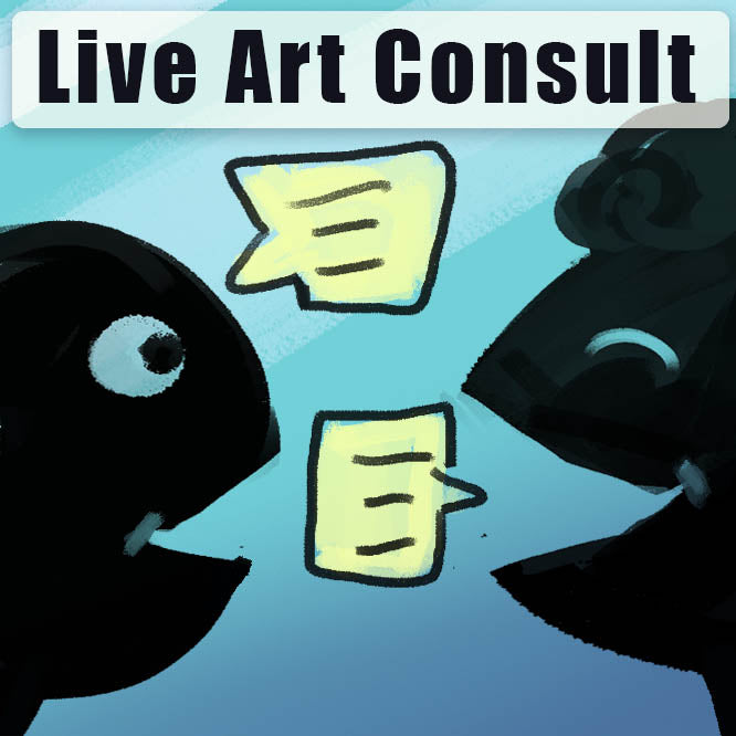Live Art Chat/Consult Critique/Review - Marco Bucci Art Store