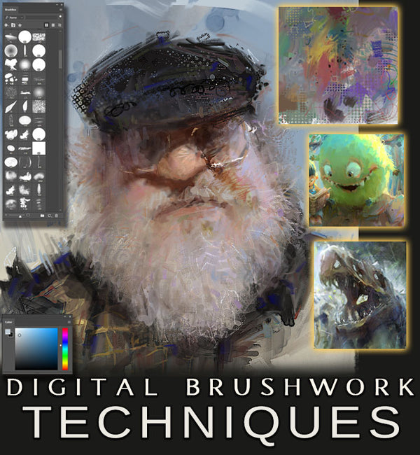 Digital Brushwork Techniques Workshop - Marco Bucci Art Store