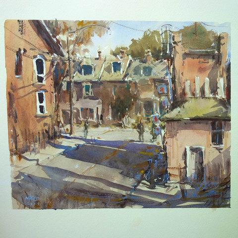 SOLD - West End Street - Marco Bucci Art Store