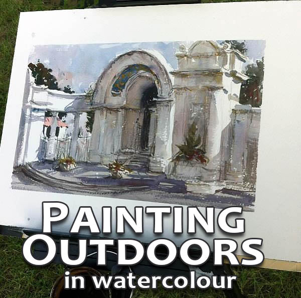 Painting Outdoors in Watercolour Workshop - Marco Bucci Art Store