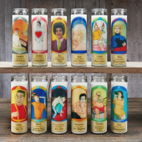 Five Custom Prayer Candles (one design)