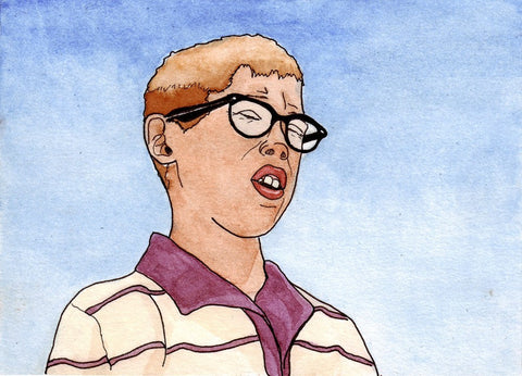 Fifties Nerdy guy - DIGITAL PRINT