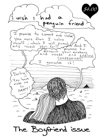 i wish i had a penguin friend - Boyfriend Issue