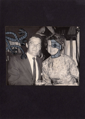 Altered Vintage Photograph-Robowife