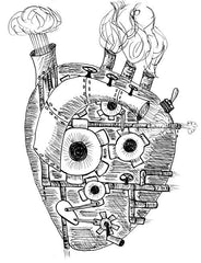 Steampunk Heart illustration