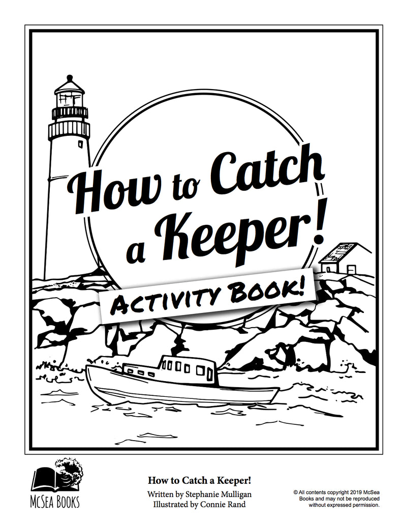 How to Catch a Keeper! & Activity book - McSea Books