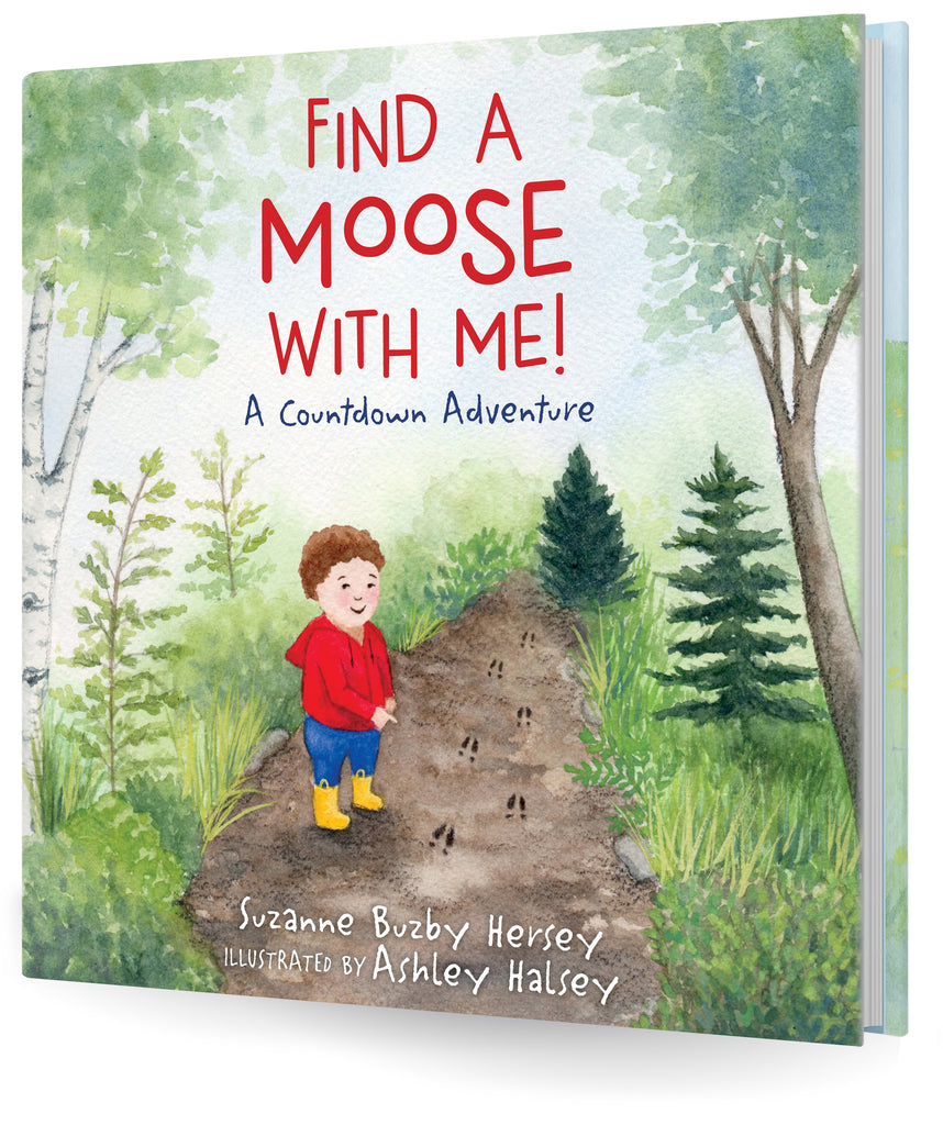 Find a Moose with Me! (Hardcover)