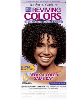 Dark & Lovely Hair Color - Reviving Colors - 395 Natural Black