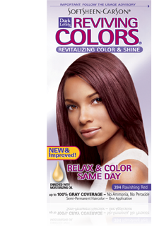 Dark & Lovely Hair Color - Reviving Colors - 394 Ravishing Red