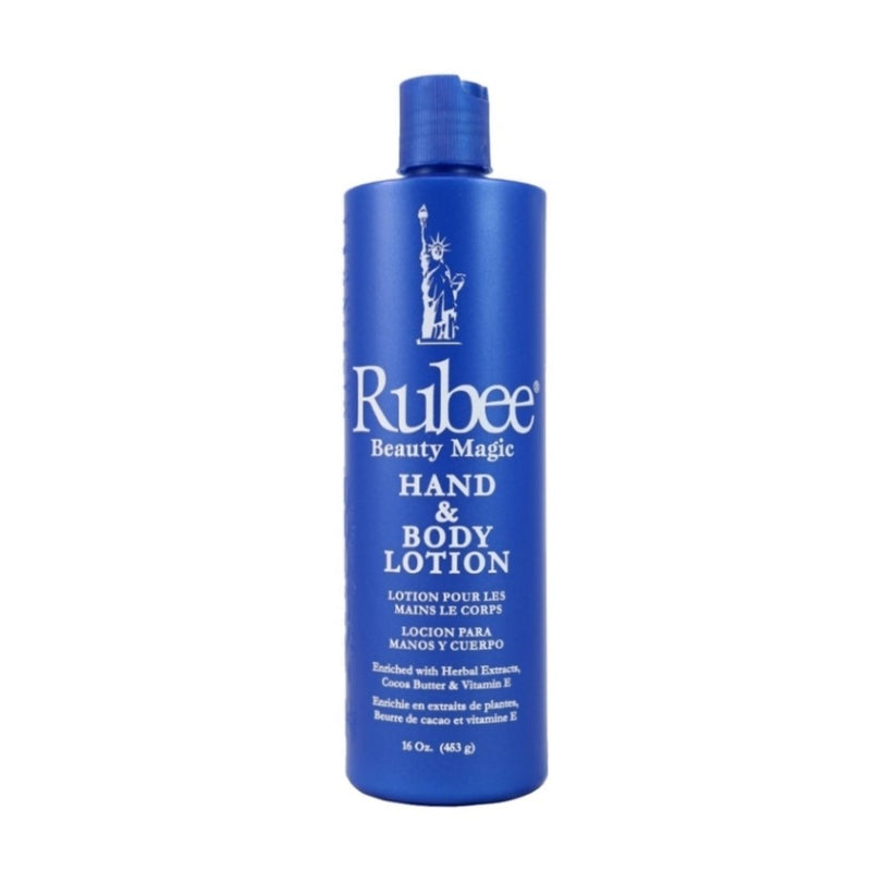 Rubee Hand & Body Lotion 16oz