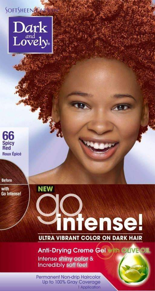 Dark & Lovely Go Intense Hair Colour- #66 Spicy Red