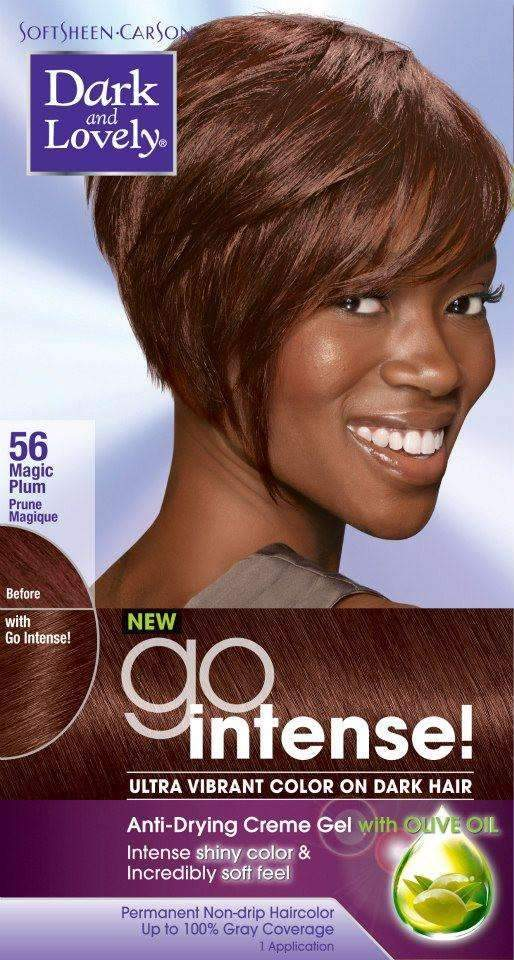 Dark & Lovely Go Intense Hair Colour -#56 Magic Plum