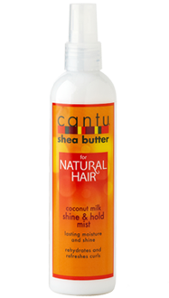 Cantu Shea Butter For Natural Hair Coconut Milk Shine & Hold Mist 8.4oz