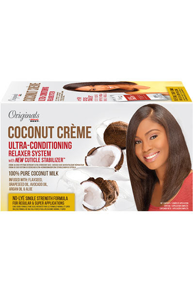 Africa's Best Coconut Creme Ultra-Conditioning Relaxer System