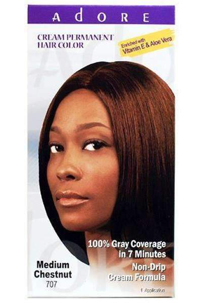 Adore Cream Permanent Hair Color - Jet Black 777
