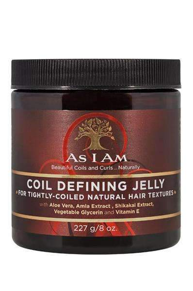 As I Am Coil Defining Jelly - For Tightly Coiled Hair 8oz