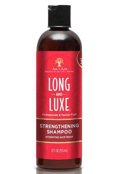 As I Am Long & Luxe Pomegranate & Passion Fruit Strengthening Shampoo