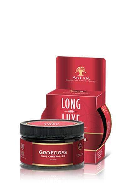 As I Am Long & Luxe Pomegranate & Passion Fruit Gro Edges
