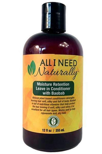 All I Need Naturally Moisture Retention Leave-In Conditioner w/ Baobab