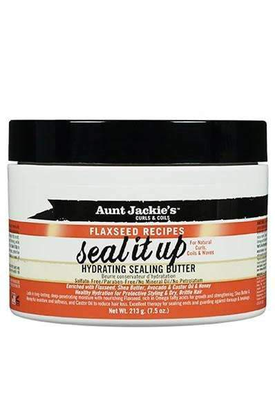 "Aunt Jackie's Flaxseed Recipes ""Seal It Up"" Hydrating Sealing Butter"