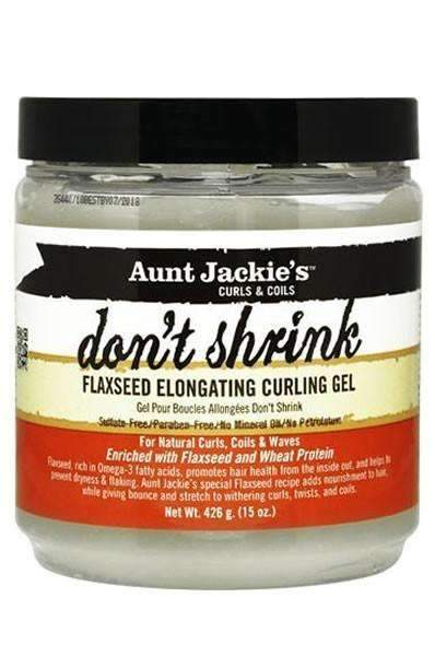 "Aunt Jackie's ""Dont Shrink"" Flaxseed Elongating Curl Gel"