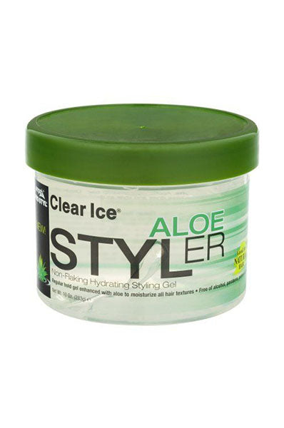 Ampro Clear Ice Aloe Styler 10oz