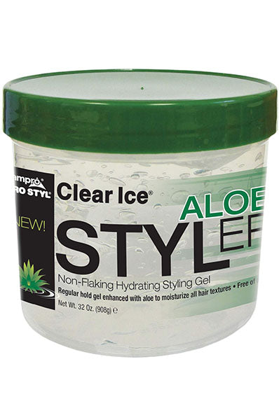 Ampro Clear Ice Aloe Styler 32oz