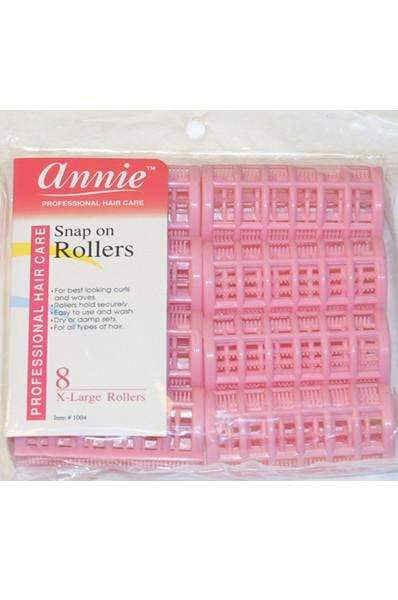 "Annie Snap-On Rollers 1 1/4"" Extra Large #1004"