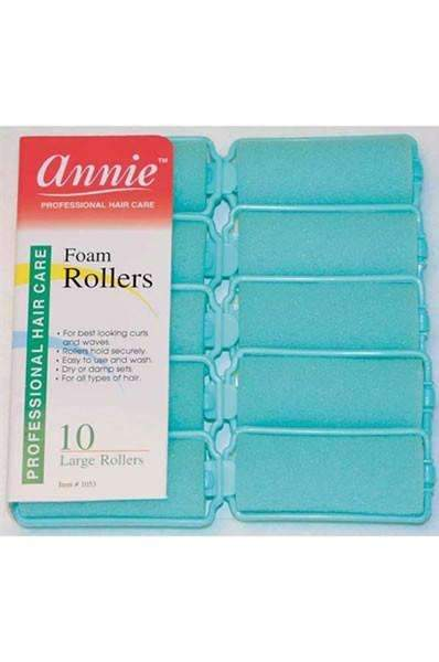 "Annie Foam Rollers 1"" Large Mint #1053"