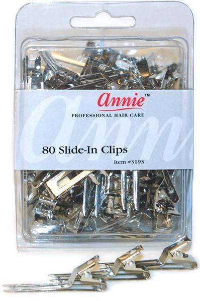 Annie Double Prong Clips 80pc #3193
