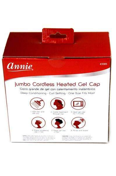 Annie Jumbo Cordless Heated Gel Cap #3585