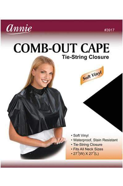Annie Comb-Out Cape #3917 Tie-String Closure