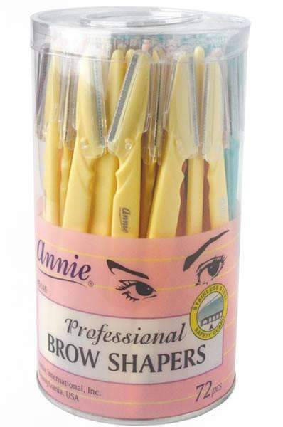 Annie Eyebrow Shapers 72pcs