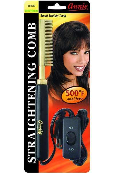 Annie Electrical Straightening Comb Small Straight Teeth #5533