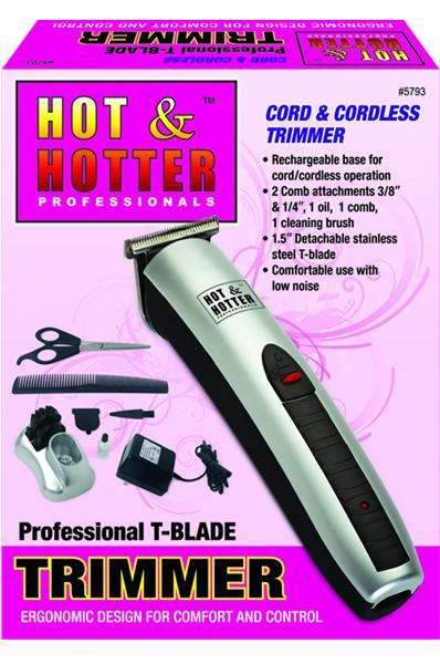 Hot & Hotter Professional T-Blade Trimmer #5793