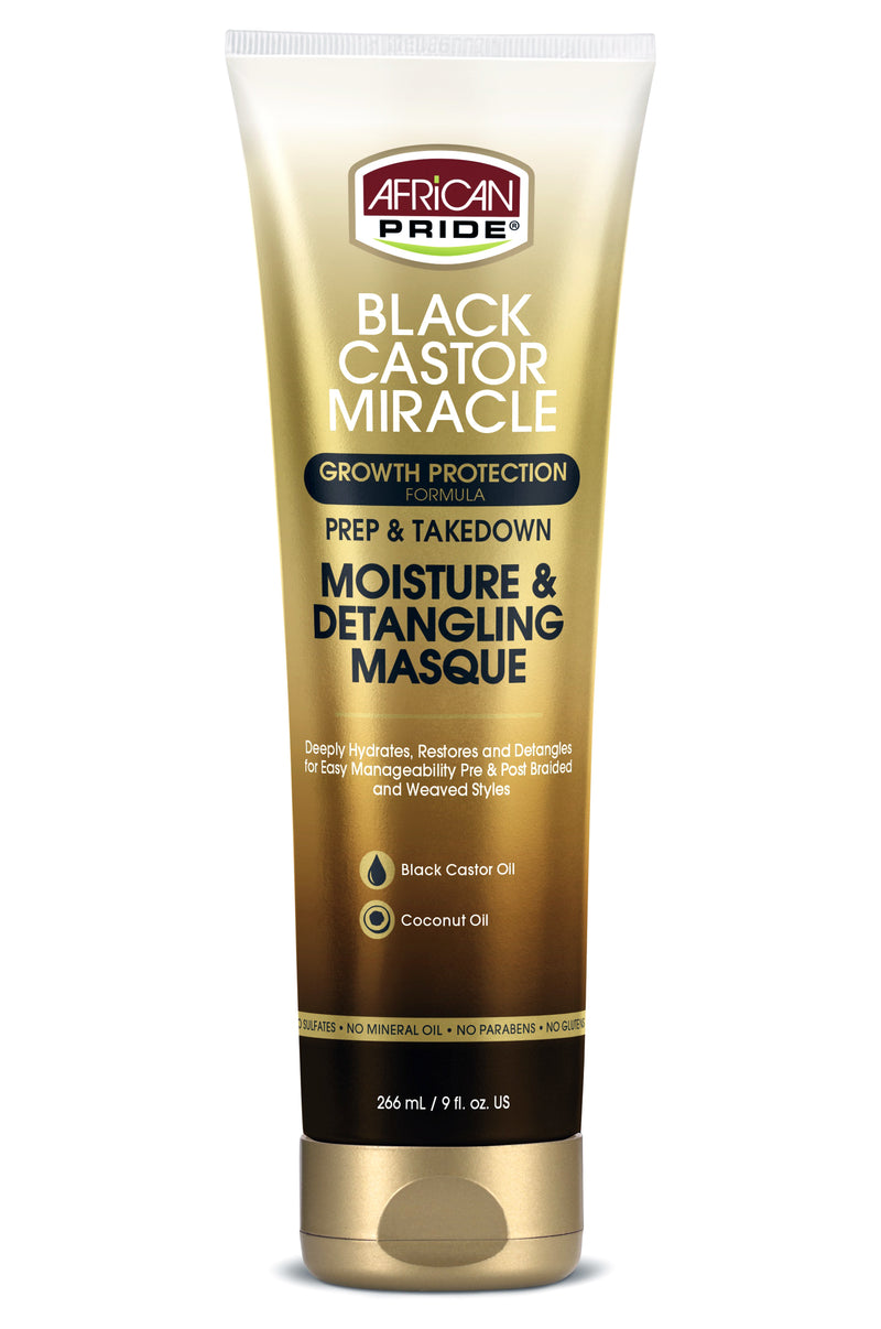 African Pride Moisture Miracle Coconut Milk & Honey Leave In Conditioner