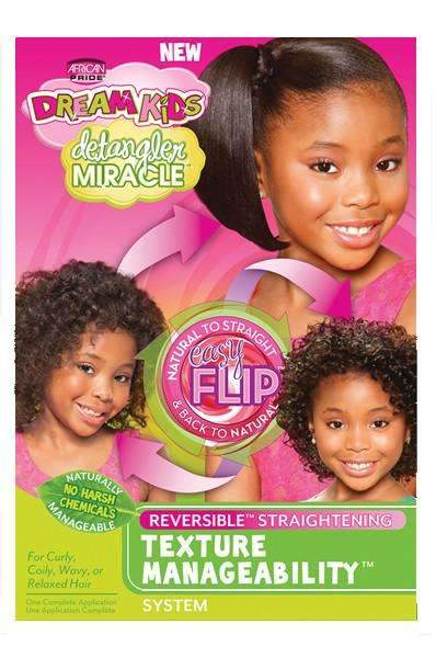 African Pride Dream Kids Detangler Miracle Texture Manageability Kit
