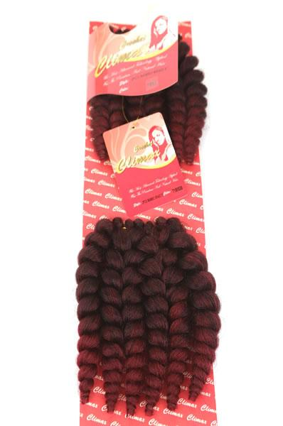 "Climax Synthetic Crochet Braid Mambo Braid 8"" 2pcs"