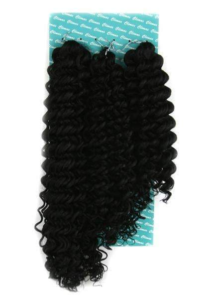 "Climax Synthetic Crochet Braid Curly Spirally 18"", 22"", 26"""