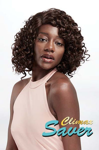 Climax Synthetic Lace Side Part Wig - Jamila