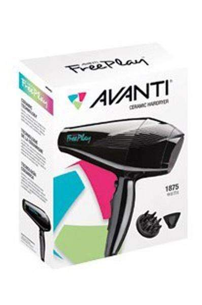Avanti Free Play Ceramic Hairdryer 1875W