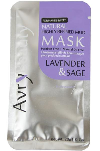 Avry Beauty Highly Refined Mud Mask - Lavender & Sage