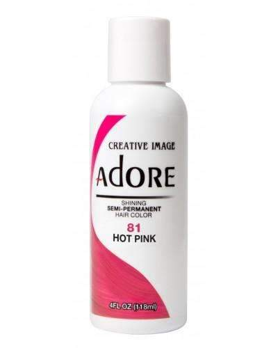 Adore Semi-Permanent Hair Color -81 Hot Pink