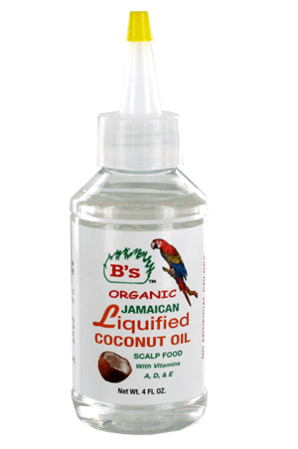 B's Organic Jamaican Liquified Coconut Oil Scalp Food