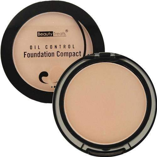 Beauty Treats Oil Control Foundation Compact - Light