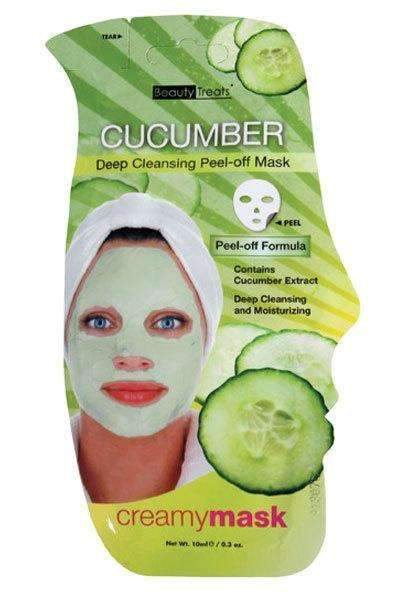 Beauty Treats Deep Cleansing Peel Off Mask - Cucumber