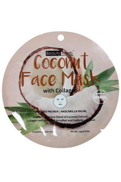 Beauty Treats Coconut Face Mask w/ Collagen